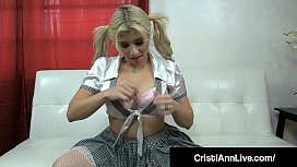 School Girl Latina Cristi...
