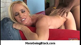 Mature lady loves big black cock to pleasure her pussy - Interracial Porn 39