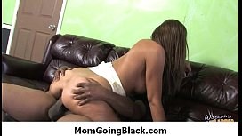 Interracial MILFs and Cougars - Mommy getting black cock 24