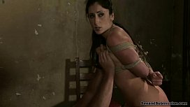 Luscious Lopez, bound and...