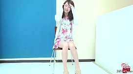 Shy Japanase Cutie Peeing in Front of Camera