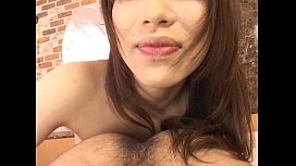 Hot Japanese babe sucking...