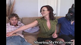 Naughty Wife With Submissive...
