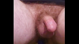 Double Prostate Cumshot While Riding Didlo