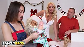 BANGBROS - Santa Vlad Is Cumming To Town To Visit Janna Hicks & Liv Wild