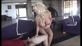 hot mom holly halston big tits and son fucking in the sofa...