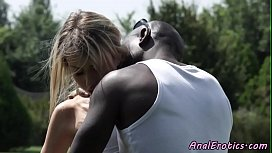 Anal loving eurobabe interracial...