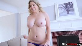 Mature stepmom bought a...