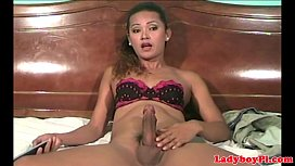 Vintage solo transpinay jerking...