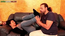 Falling In Love With Elisa Only Smell Part - Jeans Foot Worship