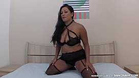 Cambodian - Canadian MILF squirting on a dick - Maxine X