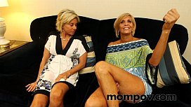 Two hot milfs gets...