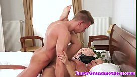 Chubby grandma doggystyled after making out