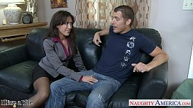 Stockinged wife Capri Cavanni...