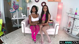 ALL ANAL Nia and Eliza'_s naughty anal threesome