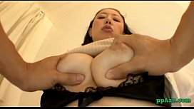Busty Asian Girl Getting...