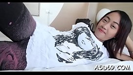 Huge cock for a thai wench
