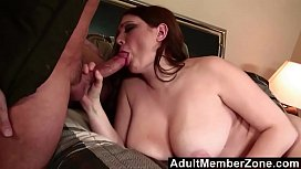 AdultMemberZone - Busty brunette shakes...