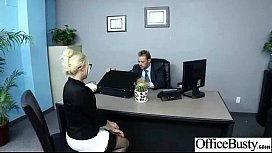 (britney amber) Busty Office Slut Girl In Hard Style Bang movie-07