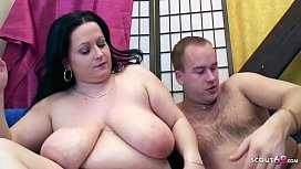 Chubby Big Tits Mom Seduce to Taboo Fuck by own Step s.