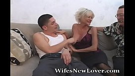 Mature Fucks Younger Lover...