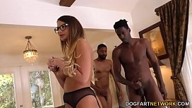 BBC Slut Brooklyn Chase Gives Special Treatment To Her Cuckold Client