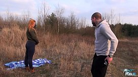 Na&iuml_ve Blonde Rammed Outdoors and Filmed for the First Time