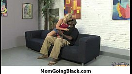 Hot MILF fucked by black monster 13