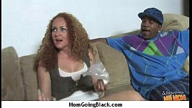 Huge Black Meat Going into Horny Mom 3
