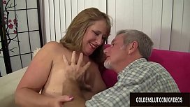 Mature Catrina Costa Gets Her Hairy Pussy Pleasured with Fingers and Cock