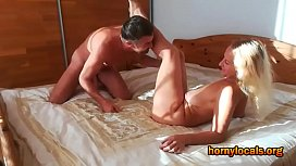 Busty Mature Woman Enjoys being Fucked by Lover