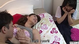 Subtitled JAV insane mother...