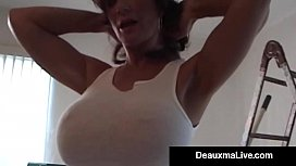 Gorgeous Wife Deauxma Takes...