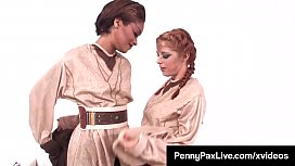 Cosplay Jedi Penny Pax &amp_ Skin Diamond Use The Sexual Forze!
