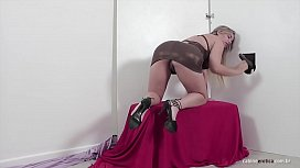 Lilith Scarlett sucking and fucking like a pro in the gloryhole!