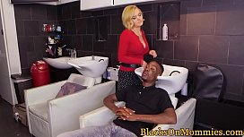 Bootylicious milf pussyfucked by black cocks
