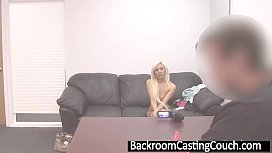 Hot Blonde Asian Assfucked...