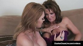 Cougars Charlee Chase and...