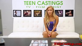 Real teen hardfucked at...