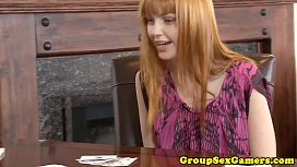 Real ginger amateur in...