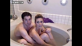 Hottest 85min Video- Bathtub Couple Fuckng While Cam Chatting Roulette Capture-- 7cams.co