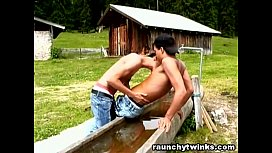 Twinks Country Teenagers Outdoor...