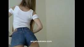 Haired Blonde Hair play and Hairstyle Watch live part02 on angelcamsex.com