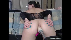 Webcam girl get fucked...