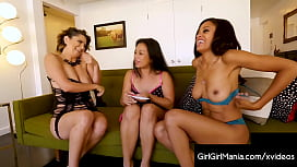 Juicy Wet All Girl Pussy Poker With Alix Lovell Lucky Starr &amp_ Anya Ivy