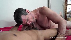 Daddy Barebacks Asian Boy...
