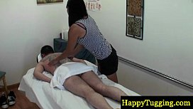 Real jap masseuse gives...