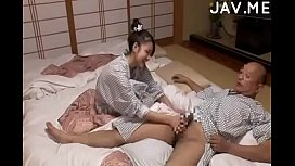 Delicious Japanese girl with...