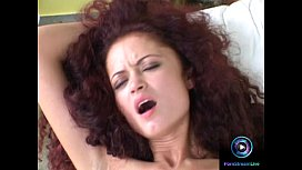 Curly haired Indira gets reamed hard by Mr Clark