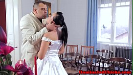 Punished euro bride roughfucked...